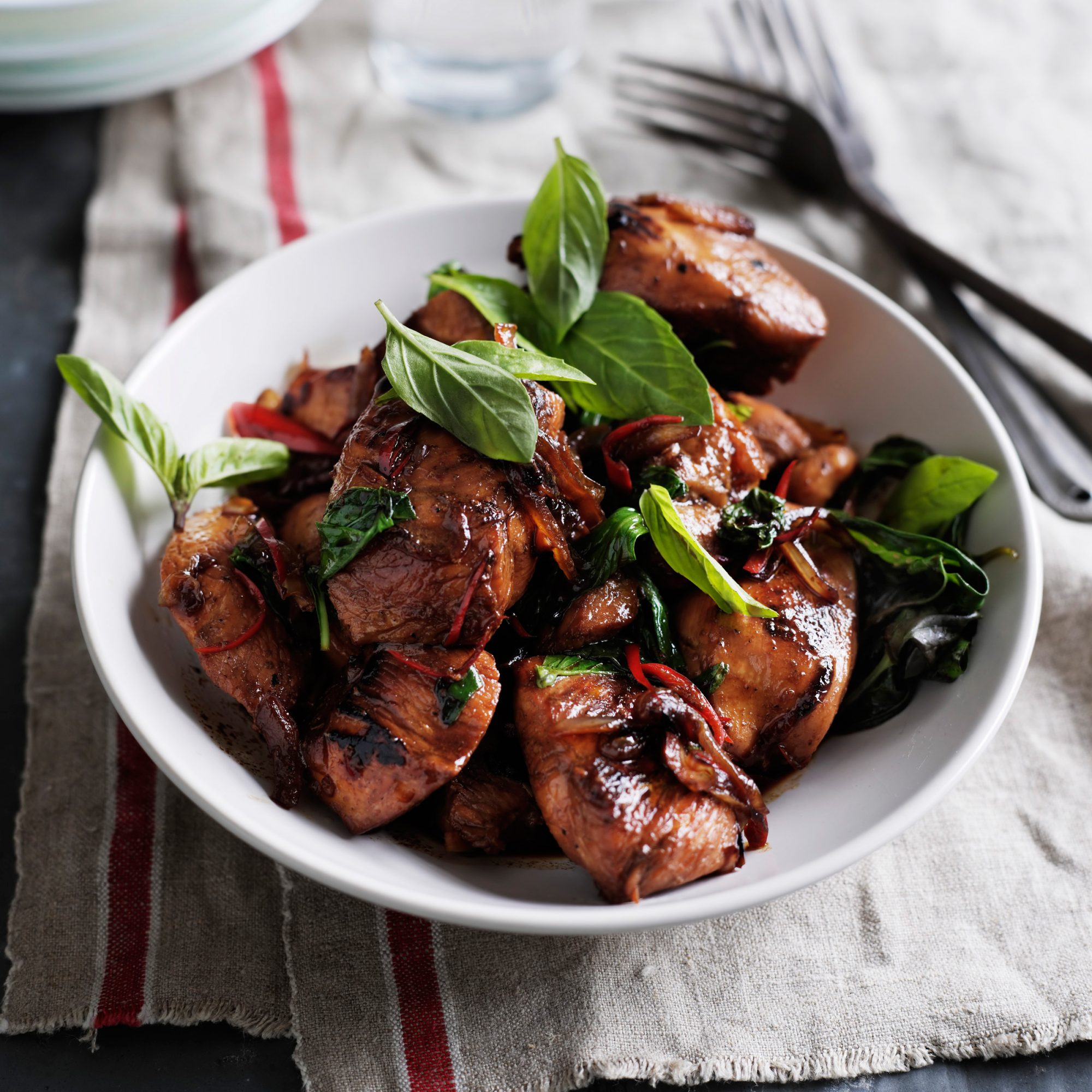 Thai Chicken With Basil Recipe Quick From Scratch Herbs Spices Food Wine