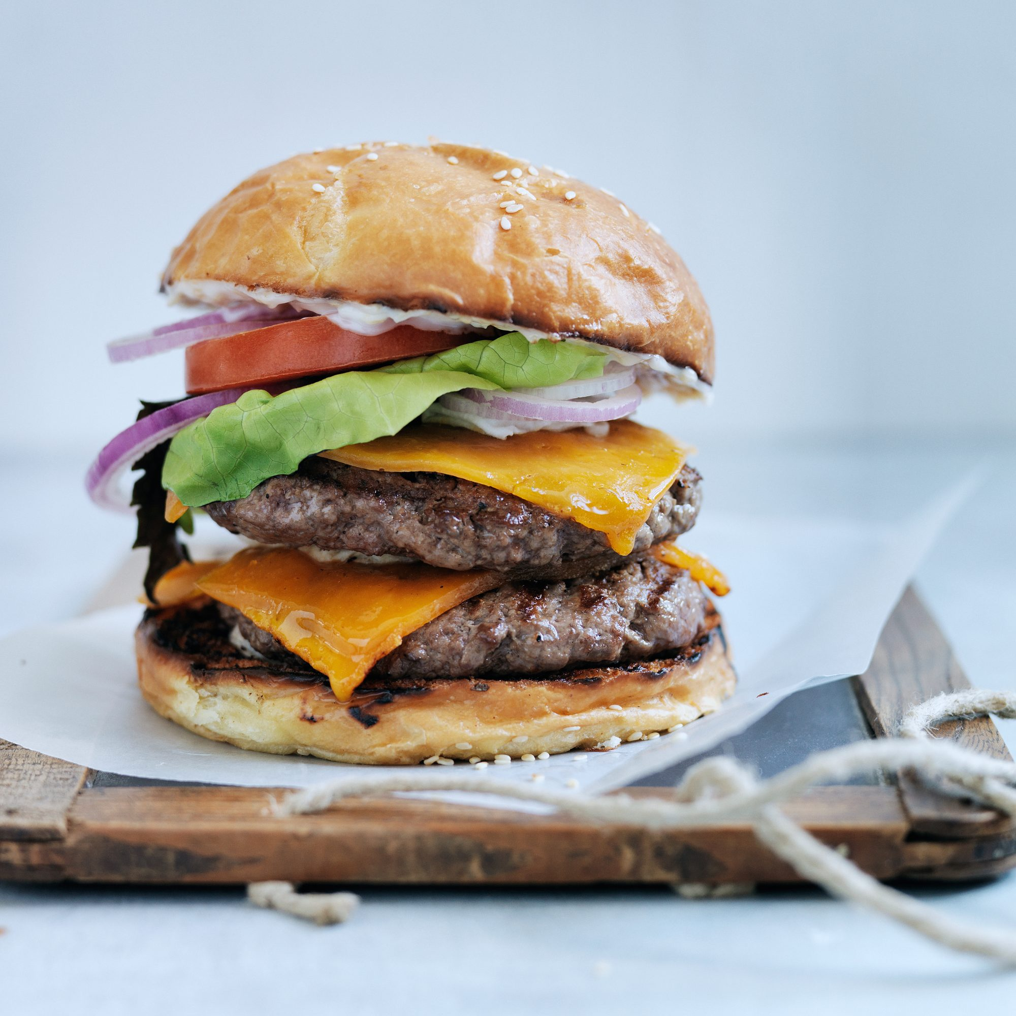 Double Cheeseburgers, Los Angeles-Style Recipe - Roy Choi | Food & Wine