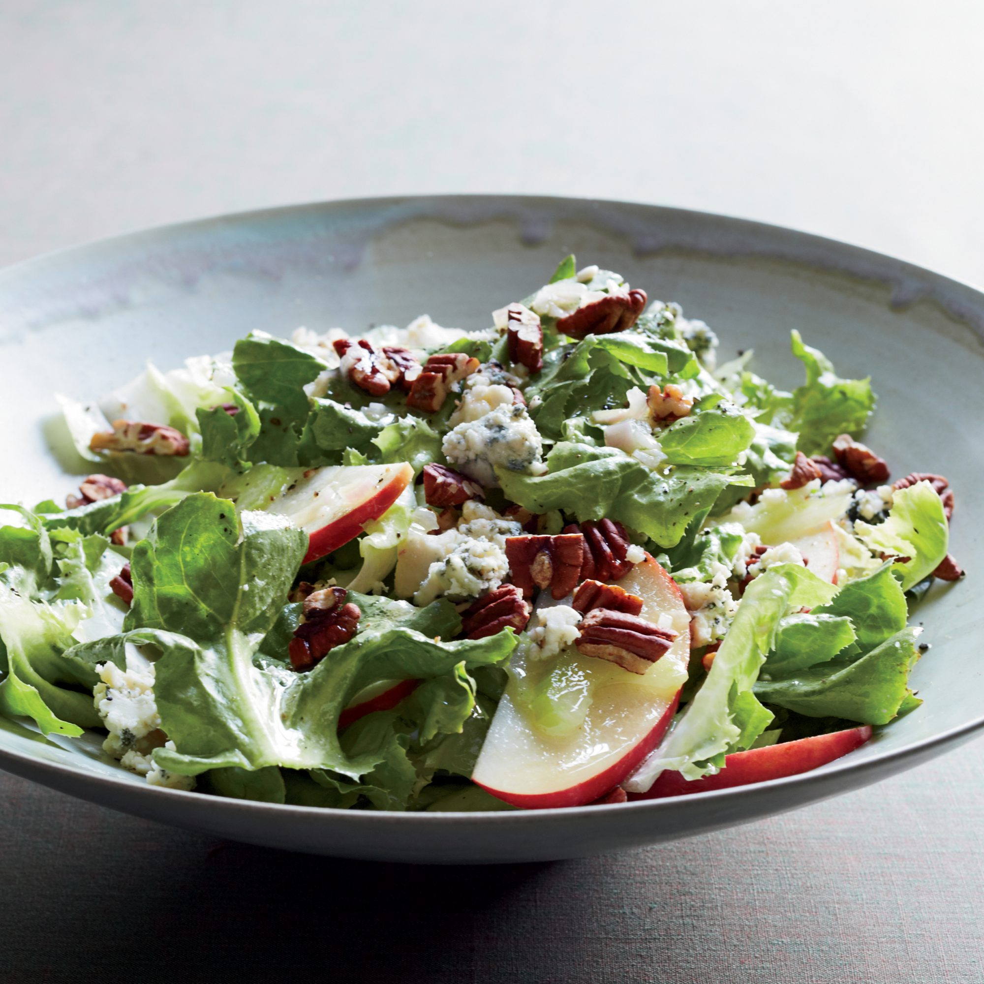 Escarole Salad With Apples Blue Cheese And Pecans Recipe Maria Helm Sinskey Food Wine
