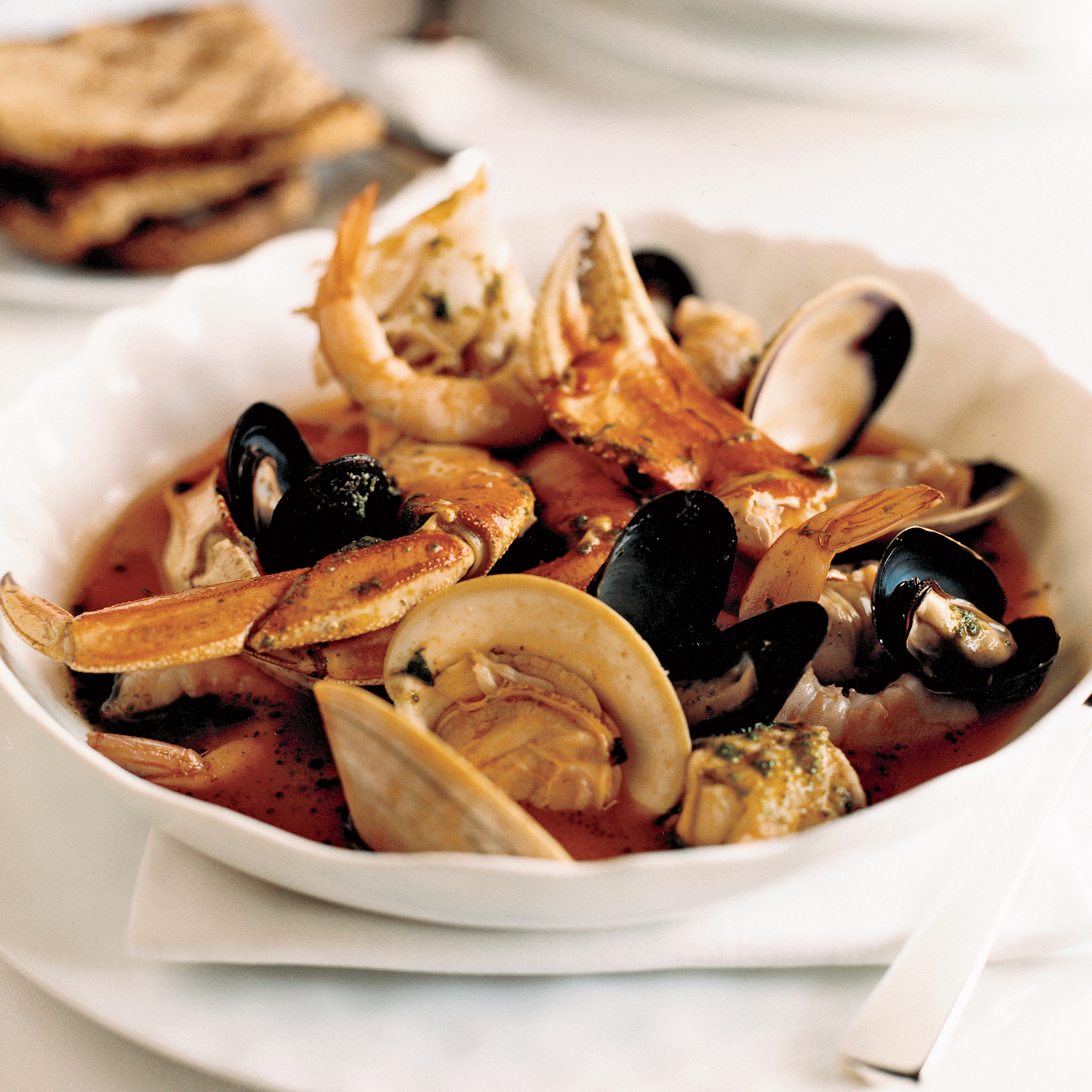 Judith S Dungeness Crab Cioppino Recipe Michael Mina Food Wine