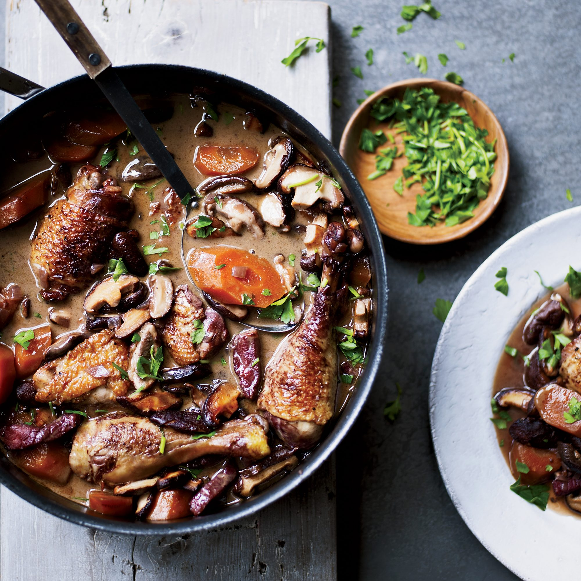 Coq Au Vin Recipe Marjorie Taylor Food Wine