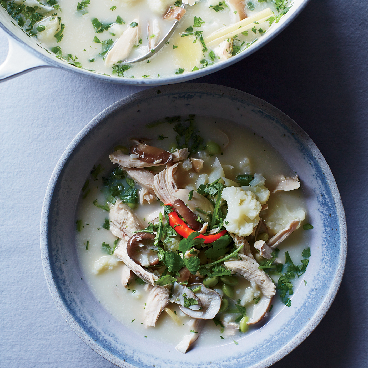 Thai Chicken Soup Recipe Spike Gjerde Food Wine