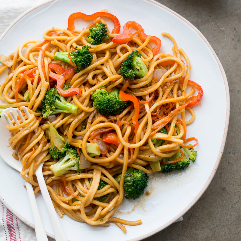 Vegetable Chow Mein Recipe Todd Porter And Diane Cu Food Wine