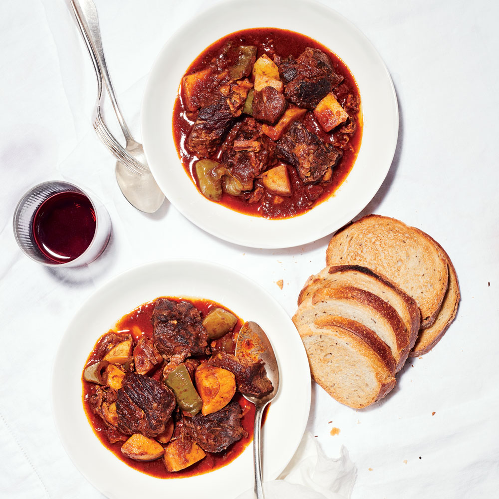 Hungarian Goulash Recipe Laura Rege Food Wine