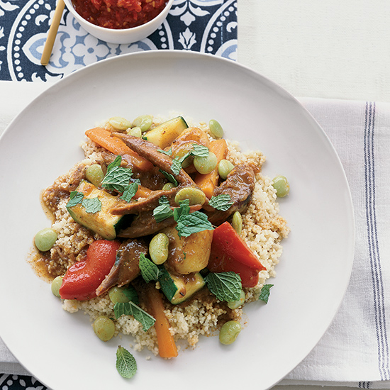 Moroccan Lamb And Vegetable Couscous Recipe Anya Von Bremzen Food Wine