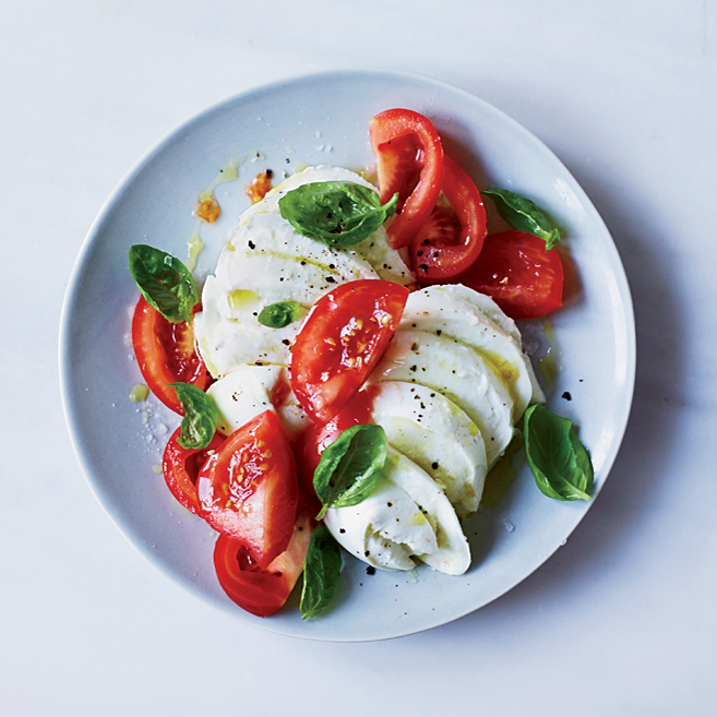 Fresh Mozzarella Recipe Sal Lamboglia Food Wine