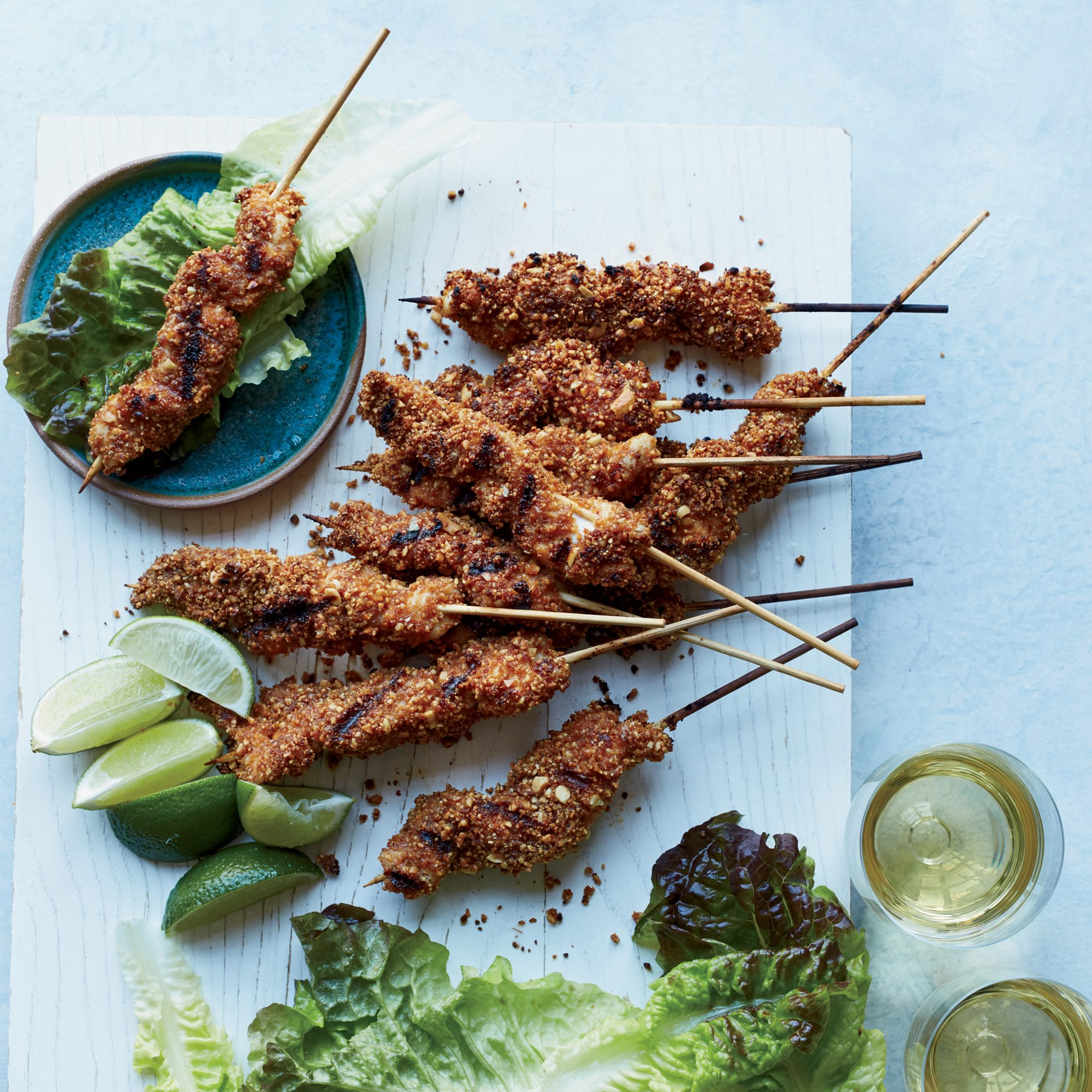 West African Chicken Kebabs Recipe Sasha Martin Food Wine