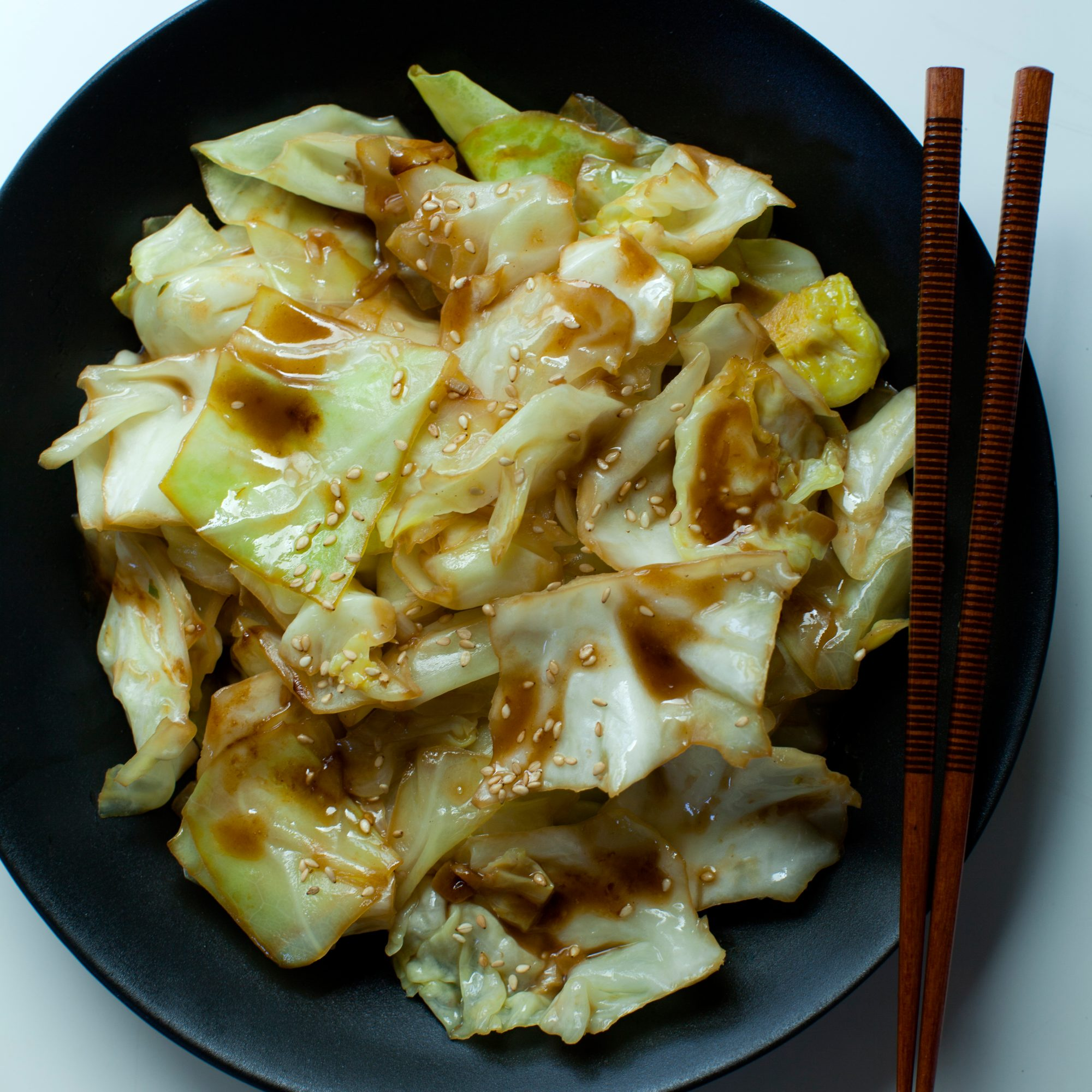 Soy Sauce Butter Cabbage Recipe Sarah Bolla Food Wine