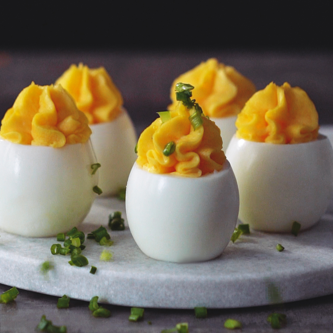 Deviled Eggs Recipe Edna Lewis Scott Peacock Food Wine
