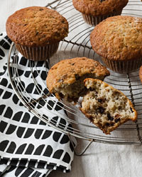 Chocolate Chip And Banana Muffins Recipe Grace Parisi Food Wine