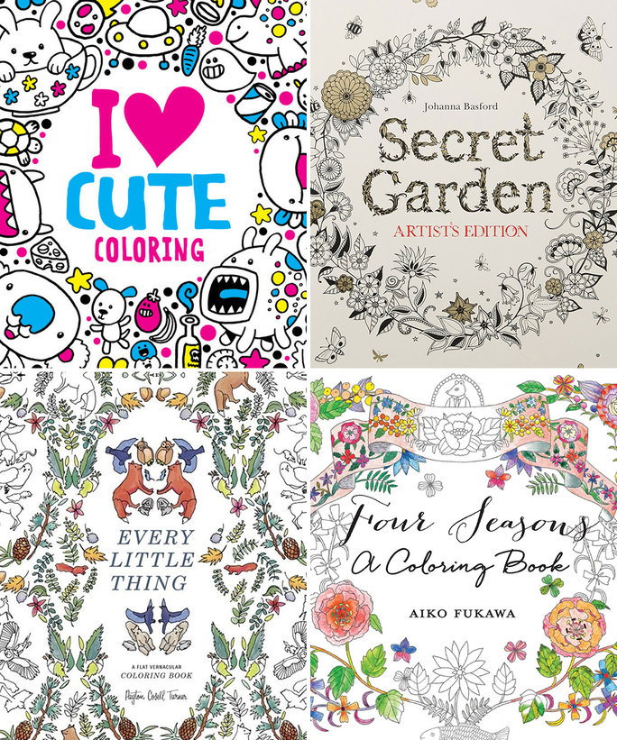- 6 Coloring Books For Grown-Ups To Help You Find Your Inner Child Food &  Wine
