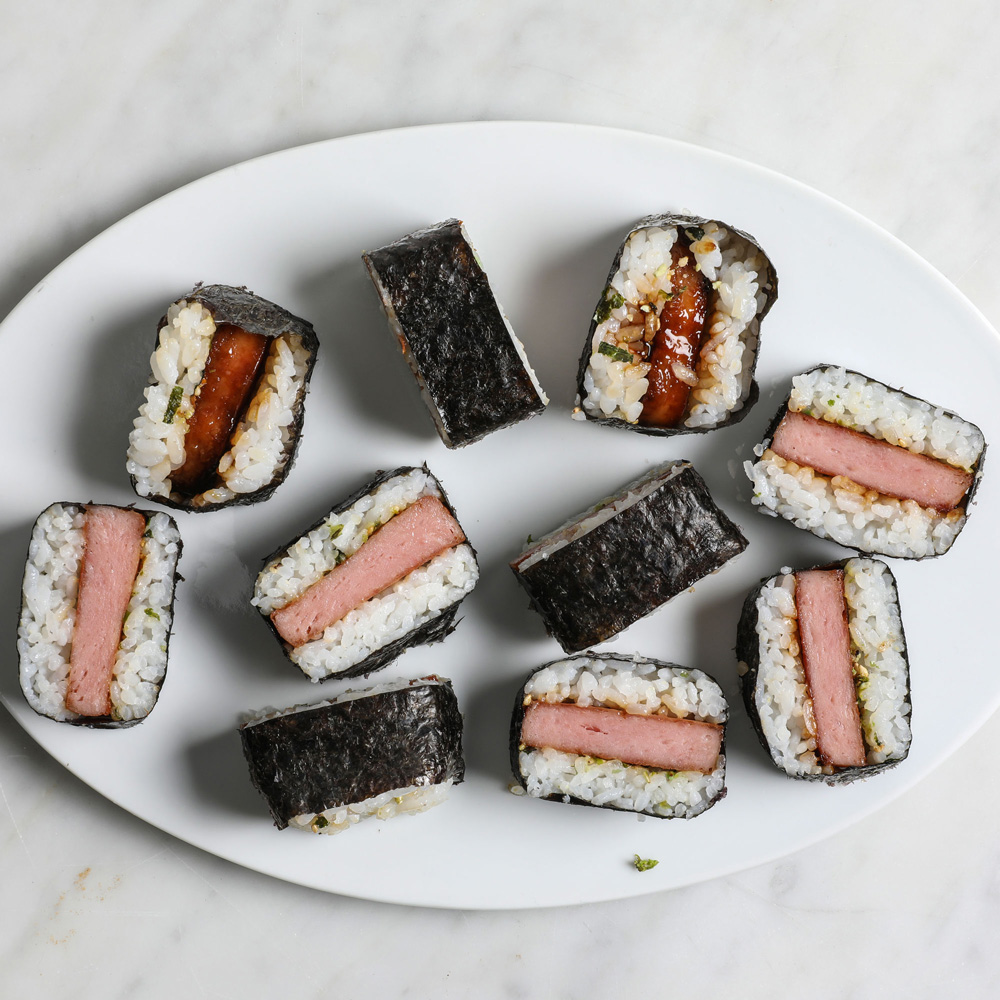 Classic Shoyu Musubi Recipe Allison Robicelli Food Wine