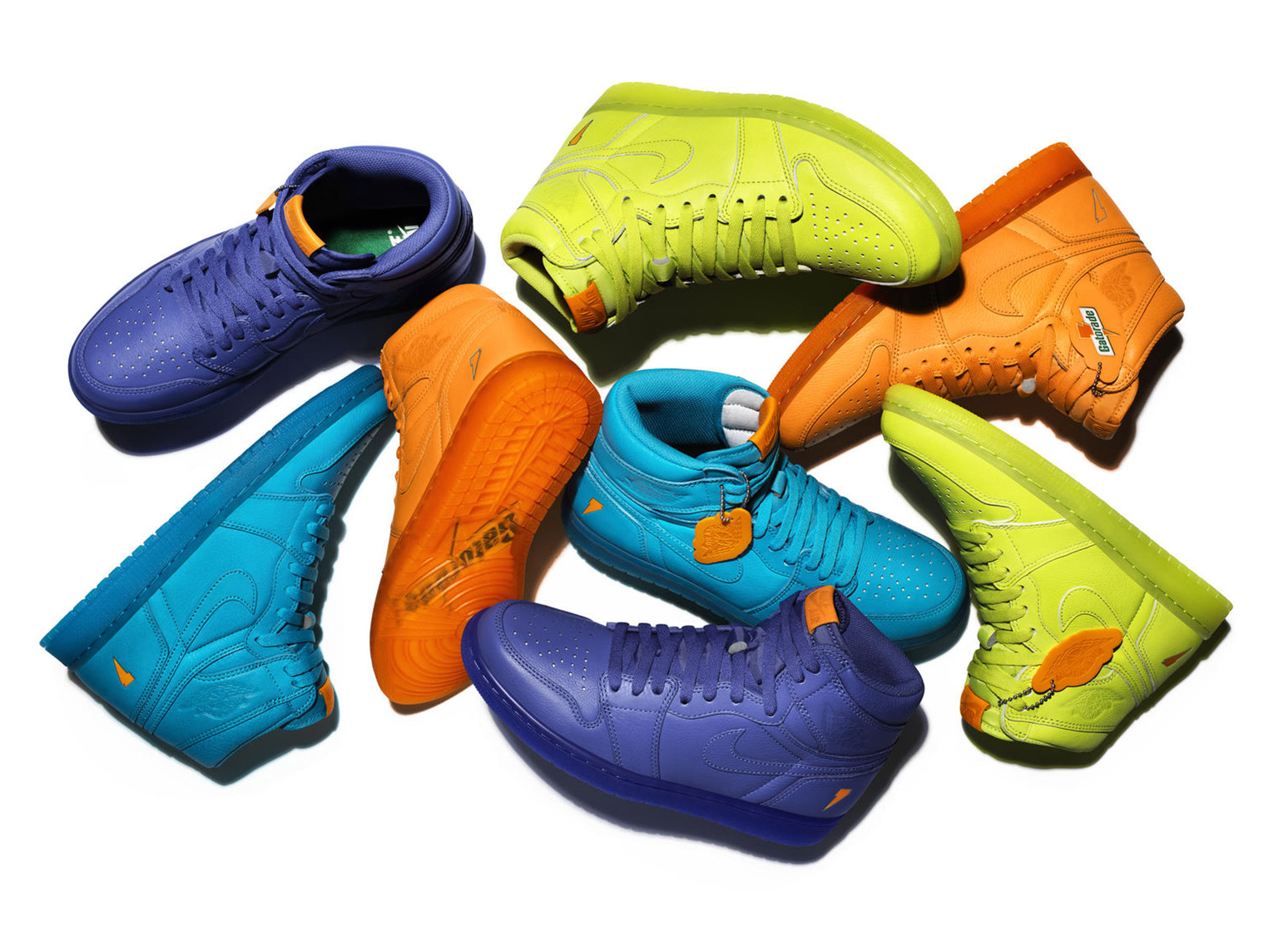 Nike's Gatorade Air Jordans Refresh the Classic Shoe Line With ...