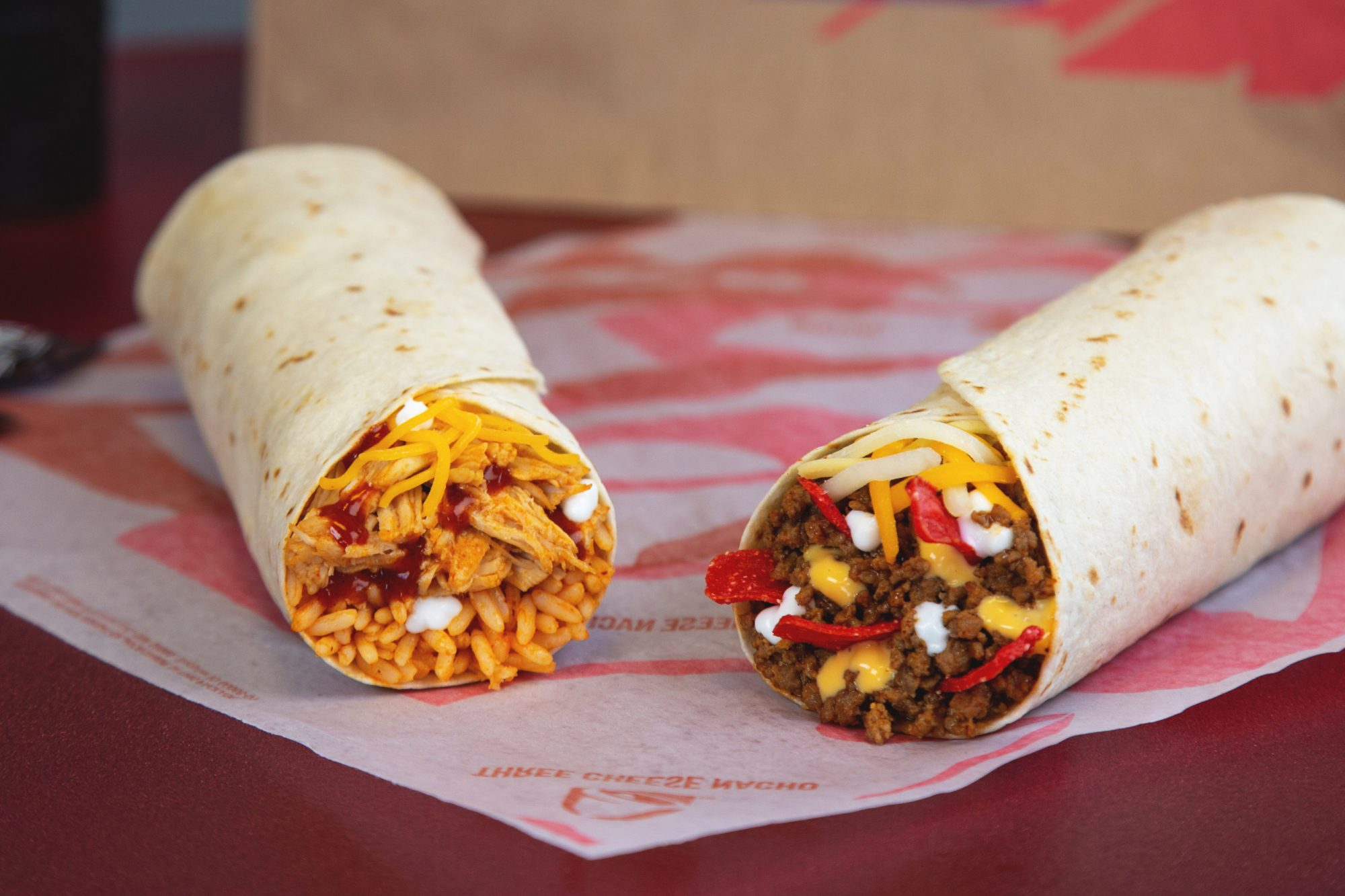 Taco Bell Unveils Massive 1 Burritos As Part Of New Value Menu Food Wine