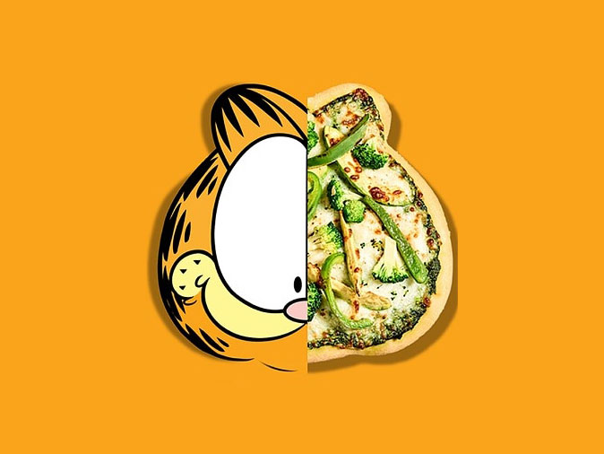 I Ate Lasagna And Garfuccinos At The New Garfield Themed Restaurant In Toronto Food Wine