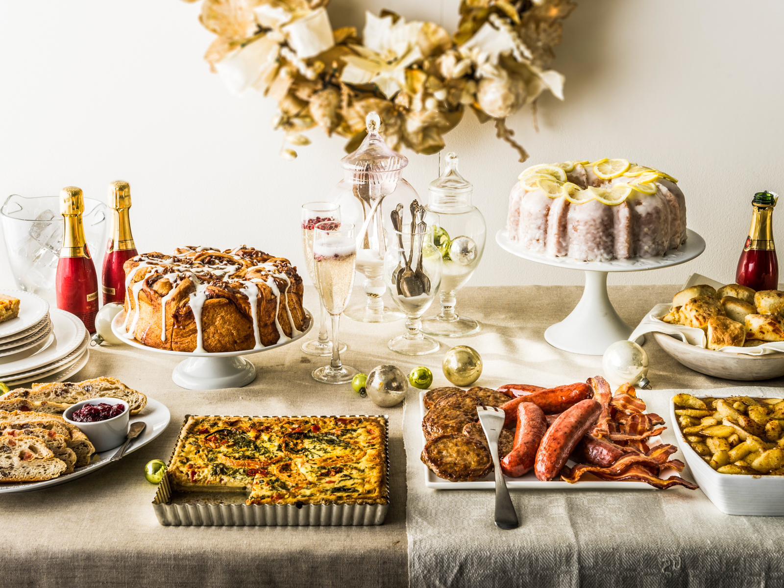 How to Throw an Elegant Brunch Party in Your PJs   Food & Wine