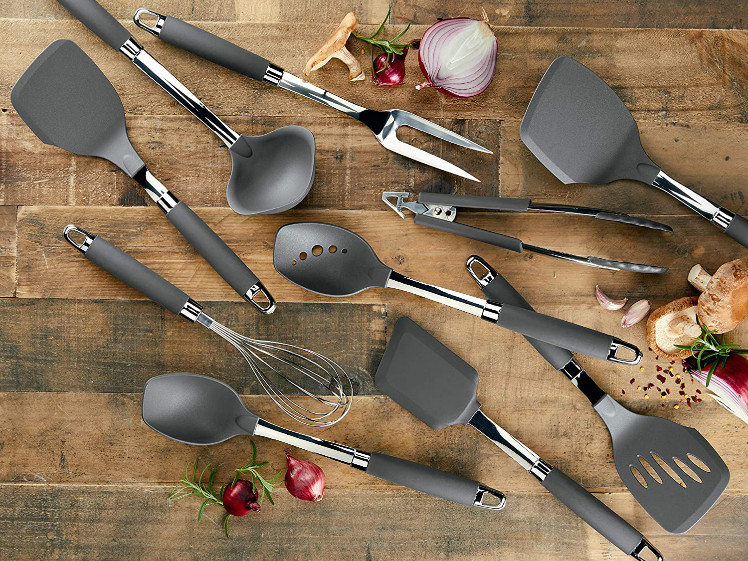 The 14 Best Utensil Sets For Cooking Baking In 2021 According To Reviews Food Wine