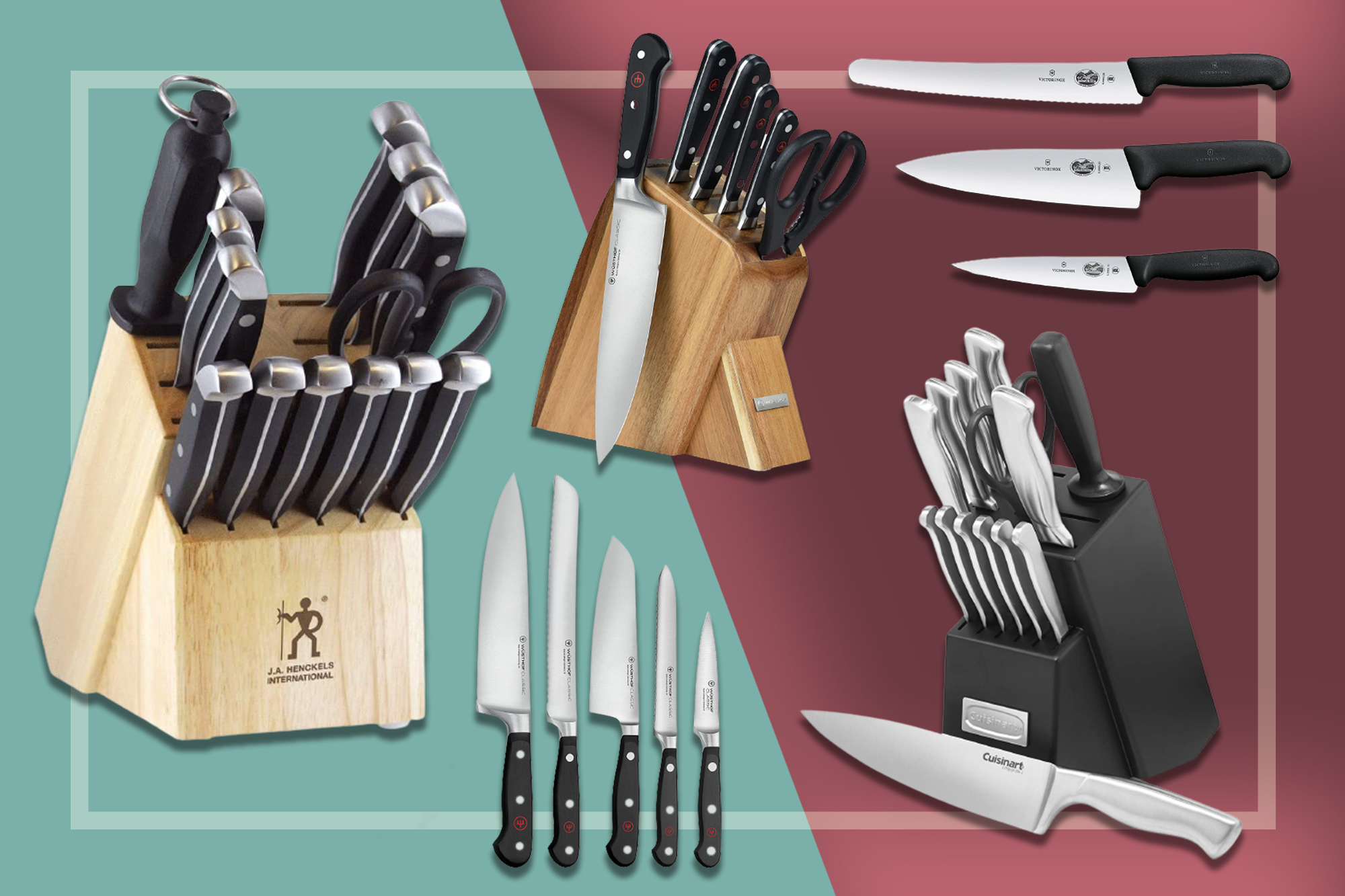 11 Best Knife Sets On Amazon According To Customer Reviews Food Wine